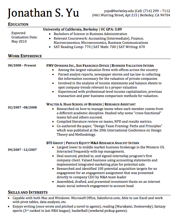 Looking Over 6 Years Of Resume Evolution – Perfect Perusals